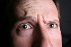 Wondering eyes, closeup Royalty Free Stock Image