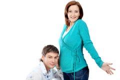 Wondering parents Royalty Free Stock Photos
