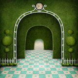 Wonderland background Royalty Free Stock Images