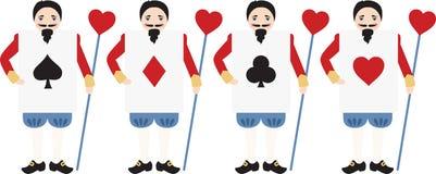 Wonderland Card Men Stock Photo