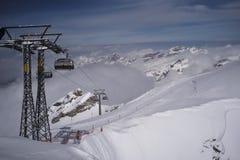 Wonderland of Mount Titlis royalty free stock photo