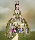 Wonderland queen Royalty Free Stock Photography