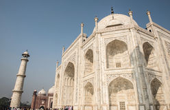Wonderous Taj Mahal Stock Photo