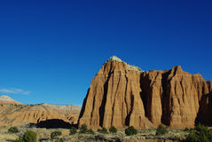 Wonders of Cathedral Valley, Utah Royalty Free Stock Image