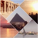Wonders of Egypt Royalty Free Stock Photo