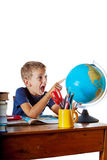 The wonders of geography Royalty Free Stock Images