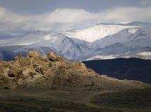 wonderstone Невады горы пустыни Стоковые Изображения