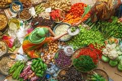Wonen Seller Stock Photo