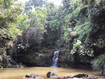 Wong Adai Waterfall Arkivbild