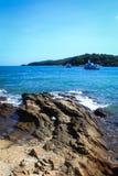 Wong Duen Strand, Samed Insel stockfotografie