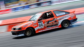 Wong Kee Thong drifting at Formula Drift 2010 Stock Photography