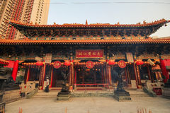 Wong Tai罪孽寺庙,香港 免版税库存图片
