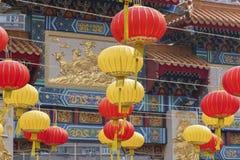 Wong Tai grzechu świątynia w Hong Kong mieście, Chiny Zdjęcia Stock