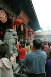 Wong Tai Sünden-Tempel Hong Kong lizenzfreie stockfotos