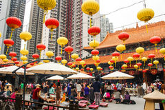 Wong Tai Sin deity atmosphere Stock Photo