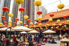 Wong Tai Sin deity atmosphere Stock Photo