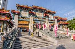 Wong Tai Sin ist eine chinesische Gottheit, die mit der Energie des Heilens populär ist Lizenzfreie Stockbilder