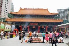 Wong Tai Sin Temple imágenes de archivo libres de regalías