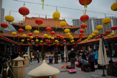 Wong Tai Sin Temple Royalty Free Stock Photography