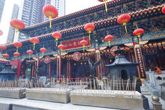 Wong Tai Sin Temple In Hong Kong At Day Royalty Free Stock Image