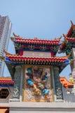 Wong Tai Sin Temple Puji, Qin Shan Zhaobi Photographie stock