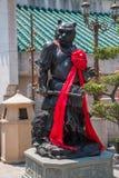 Wong Tai Sin Temple Zodiac copper statue Stock Image