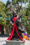 Wong Tai Sin Temple Zodiac copper statue Royalty Free Stock Images