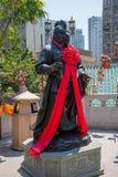 Wong Tai Sin Temple Zodiac copper statue Stock Photo