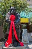 Wong Tai Sin Temple Zodiac kopparstaty Arkivfoton