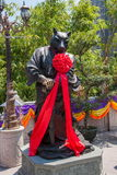 Wong Tai Sin Temple Zodiac kopparstaty Royaltyfria Bilder