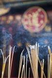 Wong Tai syndar tempelet Arkivbild