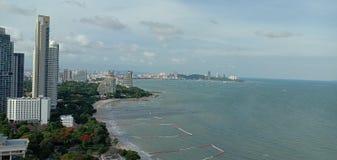 Wongamat-Bucht lizenzfreies stockbild