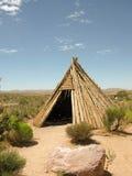Woning van de inheemse Amerikaanse Indiër stock foto