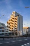 Woningbouw in Dusseldorf Stock Afbeeldingen