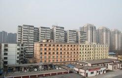 Woningbouw in Peking Royalty-vrije Stock Foto