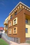 Woningbouw in Wroclaw Polen.   Royalty-vrije Stock Afbeelding