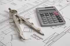 Woningbouwplan stock fotografie