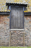 Wonky дверь амбара стоковое изображение rf