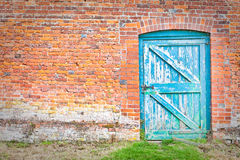 wonky dörr Arkivbild