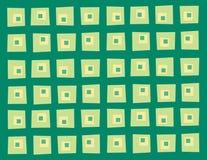 Wonky kwadrata wzór Obraz Royalty Free