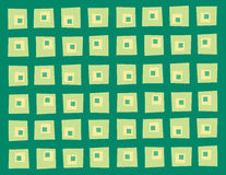 Wonky square pattern Royalty Free Stock Image