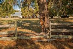Wonnerup lantgård i västra Australien Fotografering för Bildbyråer