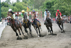 Amateur Horse Race Royalty Free Stock Images