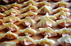 Wonton Stock Photo