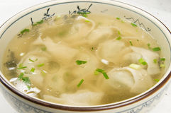 Wonton. The traditional Chinese snacks: Wonton Stock Images