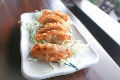 Wonton frit, nourriture chinoise photos libres de droits