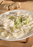 Wonton noodle soup Royalty Free Stock Images