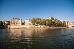 Wonton rzeka w Paryż, Francja obraz royalty free