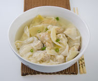 Wonton Soup. Stock Photos