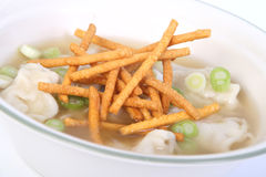 Wonton soup Stock Photography
